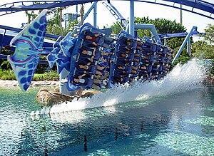 Manta (SeaWorld Orlando) - Image: Mantawater