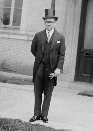 Manuel C. Téllez - Téllez on 25 November 1925.