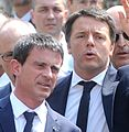 Manuel Valls and Matteo Renzi - Festival Economia 2015 cropped.JPG