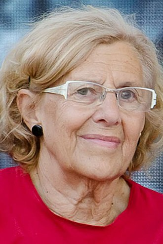 2015 Madrid City Council election - Image: Manuela Carmena 2015d (cropped)
