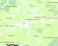Map commune FR insee code 34160.png