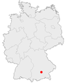 Map garching in germany.png