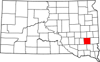 Map of South Dakota highlighting McCook County.svg