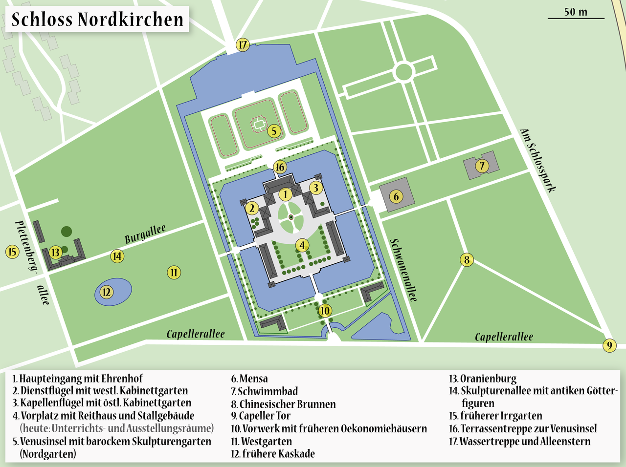 File:map Of The Castle Nordkirchen.png - Wikipedia 15 Sport Schwimmbad Designs