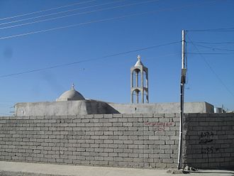 Bartella - Image: Mar Giwargis Church (the old one) built in around 1701