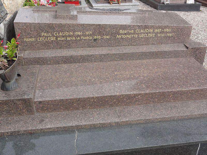 Marainviller (M-et-M) tombe de soldat 1941