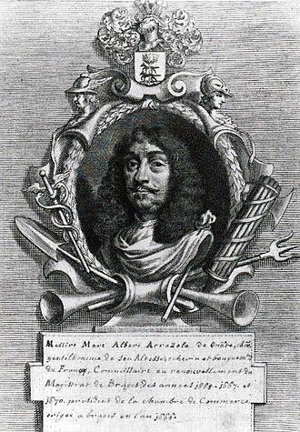 Arrazola - Marc-Albert Arrazola (1612-1674)