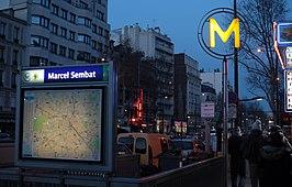 marcel sembat metrostation wikipedia. Black Bedroom Furniture Sets. Home Design Ideas