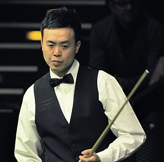 Marco Fu Hong Kongese professional snooker player