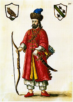 Marco Polo dressed as a Tatar (image courtesy Wikimedia)