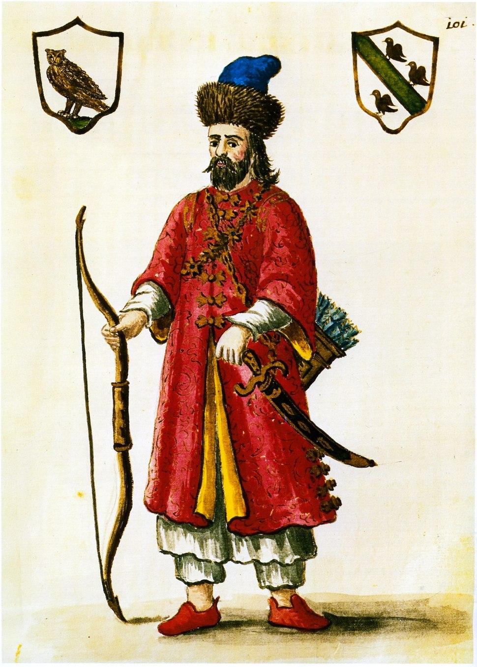 Marco Polo - costume tartare