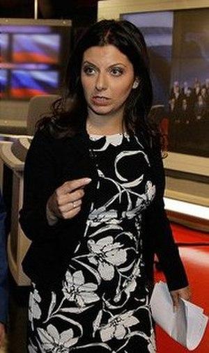 Margarita Simonyan - Simonyan in 2010