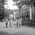 Mariánské Lázně 1958, Kolonnád. Fortepan 7779.jpg