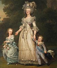 סיפורו הטראגי של  מארי אנטואנט ולואי השישה עשר מלך צרפת.