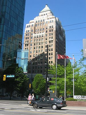 "Smallville (season 2) - The Vancouver Marine Building had always been Al Gough and Miles Millar's ideal location to be the series' Daily Planet, which would make its first appearance in season two's ""Insurgence""."