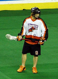 Mark Steenhuis Canadian professional lacrosse player