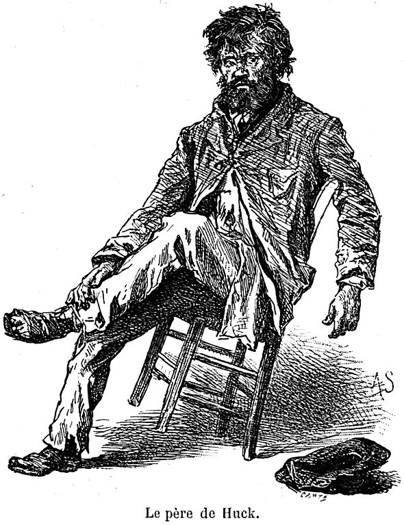 an analysis of toms and hucks view of life in the adventures of huckleberry finn by mark twain In mark twain's the adventures of huckleberry finn, jim represents different things to huck that make him a father-figure jim loves huck and forgives him when he his less than kind to him, and.