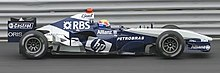 Photo de la Williams FW27 de Mark Webber au Canada