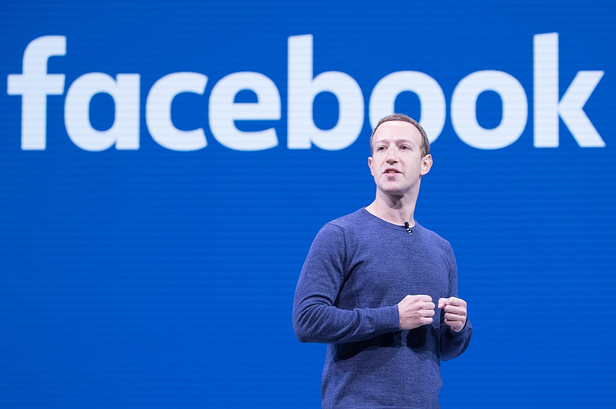 Instagram and WhatsApp are going Facebook official Anthony Quintano from Honolulu, HI, United States, Mark Zuckerberg F8 2018 Keynote (41793468182), CC BY 2.0