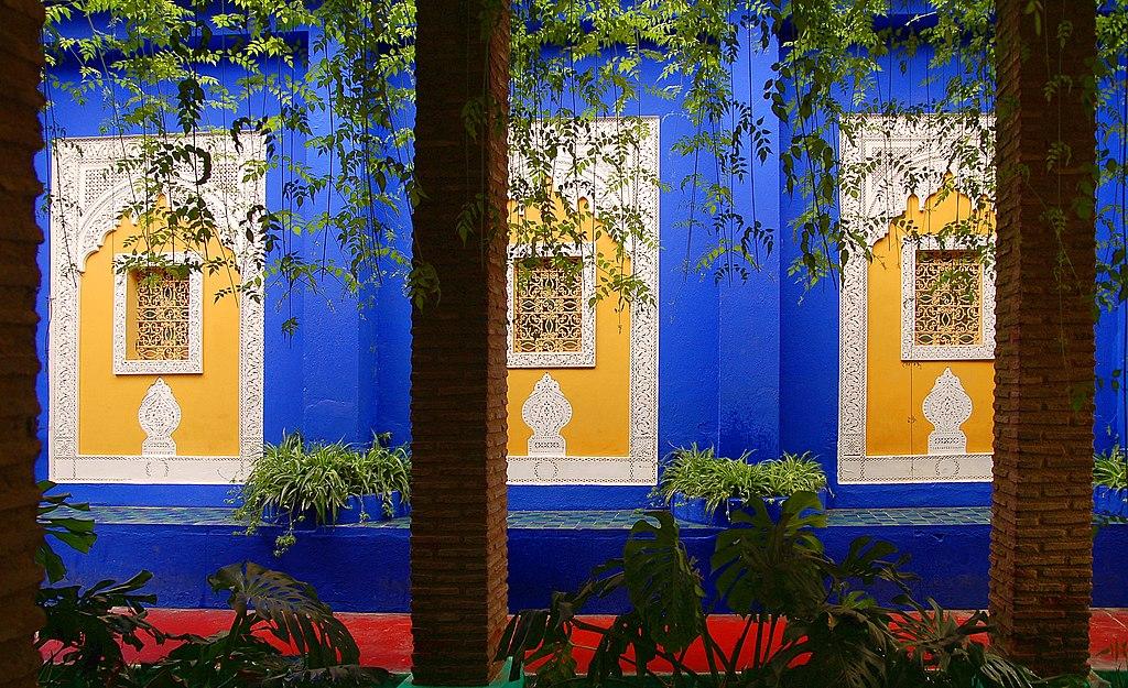 El jardin majorelle de marrackech - Yves saint laurent jardin majorelle ...