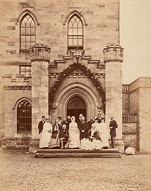 Earl of Home - Image: Marriage of Lord Dunglass 1870