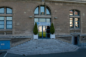 Aix-Marseille University - Former seat of the University of the Mediterranean Aix-Marseille II