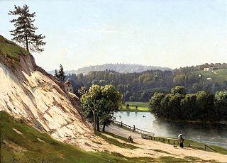 View of Vilnius surroundings.