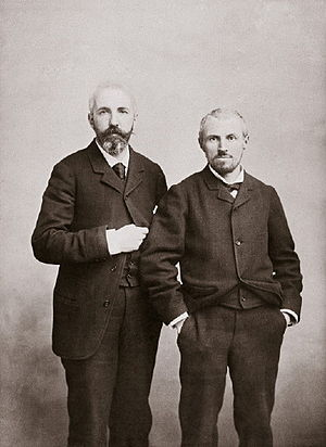 Gustave Caillebotte - Gustave Caillebotte (right) and his brother, Martial