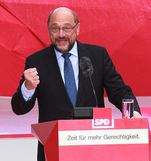 Martin Schulz Wahlkampfauftritt in Münster 2017 Bild 1 (Ausschnitt)