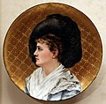 Mary louise mc loughlin, placca col ritratto di esther mclaughlin, 1882.jpg
