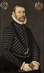 Portret van Suts van Botnia, grietman van Wymbritseradeel