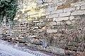 Maternstraße, Stützmauern von Domstraße 11 Bamberg 20171229 001.jpg