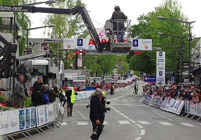 Maubeuge - Quatre jours de Dunkerque, étape 2, 7 mai 2015, arrivée (A18).JPG