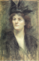 Maude Gonne by Sarah Purser 1898.png