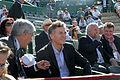 Mauricio Macri asistió a la semifinal de Copa Davis entre Argentina y República Checa (7997362641).jpg