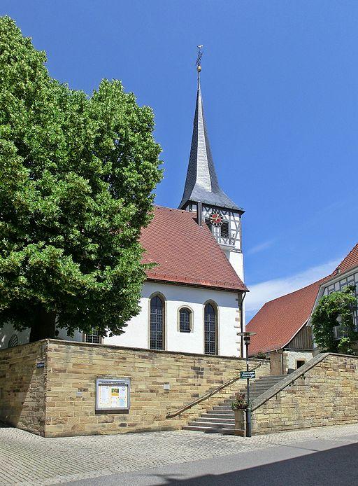 Mauritiuskirche Kirchheim am Neckar 2012