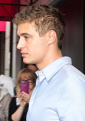 Max Irons - Irons in December 2014