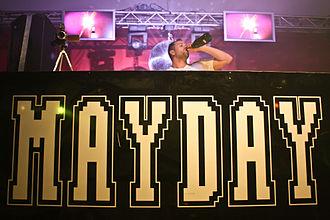 Mayday (music festival) - Image: Mayday 2009 dortmund tom novy