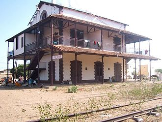 Railway stations in Senegal - Meckhe station