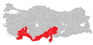 Mediterranean Region (statistical) Region in Turkey