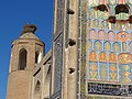 Medressa Facade with Stork Nest on Minaret - Old City - Bukhara - Uzbekistan (7515791762) (2).jpg