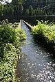 Meisei-flume stone arch bridge groove.jpg