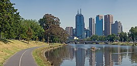 Melbourne Yarra River from Alexandra Avenue - Nov 2008.jpg