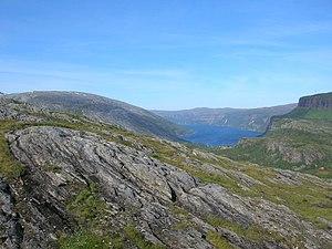 Saltfjellet - Image: Melfjord 01