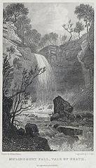 Melincourt fall, vale of Neath, Glamorganshire