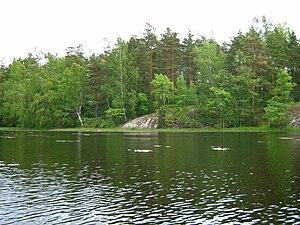 Vuoksi River - The Vuoksi near Melnikovo