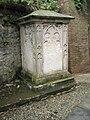 Memorial outside St Luke's, Ironbridge - geograph.org.uk - 1463282.jpg