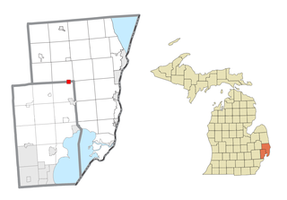 Memphis, Michigan City in Michigan, United States