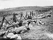 Men of the Royal Warwickshire Regiment