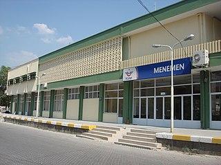 Menemen railway station railway station in İzmir